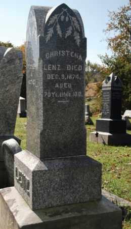 LENZ, CHRISTENA - Stark County, Ohio | CHRISTENA LENZ - Ohio Gravestone Photos