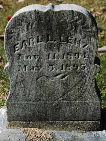 LENZ, EARL L. - Stark County, Ohio | EARL L. LENZ - Ohio Gravestone Photos