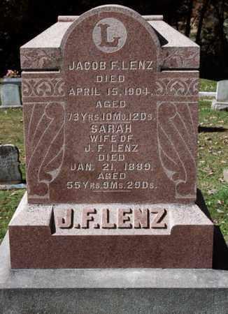 LENZ, JACOB F. - Stark County, Ohio | JACOB F. LENZ - Ohio Gravestone Photos