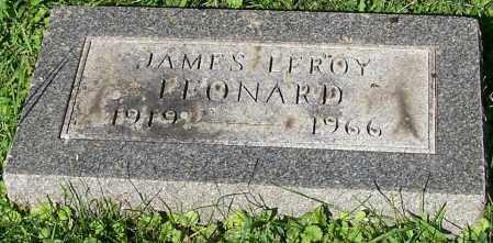 LEONARD, JAMES LEROY - Stark County, Ohio   JAMES LEROY LEONARD - Ohio Gravestone Photos