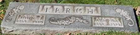 LERCH, JOHN J. - Stark County, Ohio | JOHN J. LERCH - Ohio Gravestone Photos