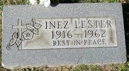 LESTER, INEZ - Stark County, Ohio | INEZ LESTER - Ohio Gravestone Photos