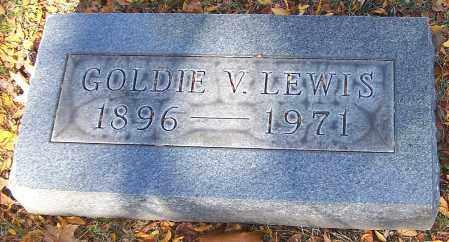 LEWIS, GOLDIE V. - Stark County, Ohio | GOLDIE V. LEWIS - Ohio Gravestone Photos
