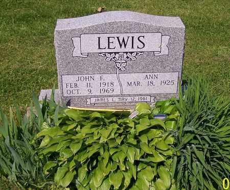 LEWIS, JOHN F. - Stark County, Ohio | JOHN F. LEWIS - Ohio Gravestone Photos
