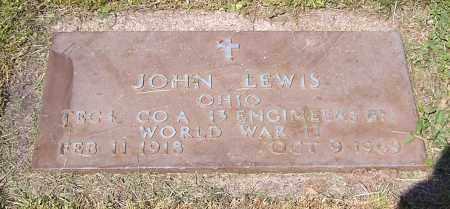 LEWIS, JOHN - Stark County, Ohio   JOHN LEWIS - Ohio Gravestone Photos