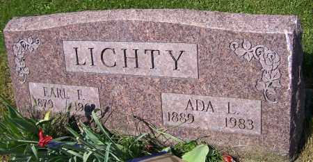 LICHTY, ADA L. - Stark County, Ohio   ADA L. LICHTY - Ohio Gravestone Photos