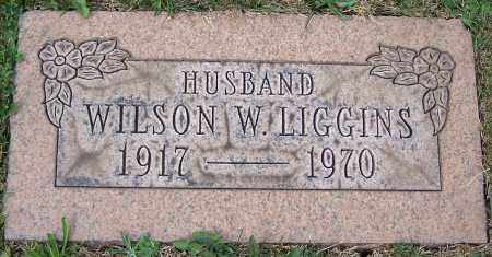 LIGGINS, WILSON W. - Stark County, Ohio   WILSON W. LIGGINS - Ohio Gravestone Photos