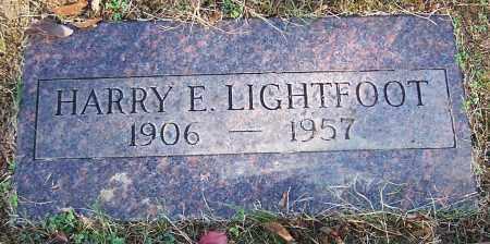 LIGHTFOOT, HARRY E. - Stark County, Ohio | HARRY E. LIGHTFOOT - Ohio Gravestone Photos