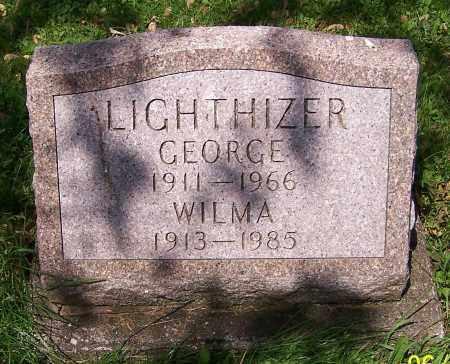 LIGHTHIZER, WILMA - Stark County, Ohio   WILMA LIGHTHIZER - Ohio Gravestone Photos