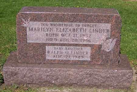 LINDER, MARILYN ELIZABETH - Stark County, Ohio | MARILYN ELIZABETH LINDER - Ohio Gravestone Photos