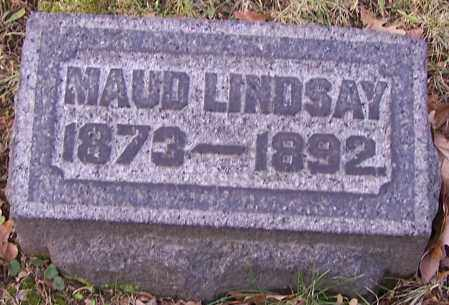 LINDSAY, MAUD - Stark County, Ohio   MAUD LINDSAY - Ohio Gravestone Photos
