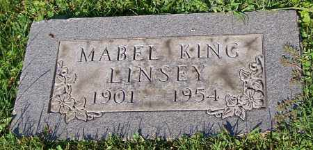 LINSEY, MABLE KING - Stark County, Ohio | MABLE KING LINSEY - Ohio Gravestone Photos