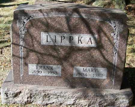 LIPPKA, FRANK - Stark County, Ohio | FRANK LIPPKA - Ohio Gravestone Photos