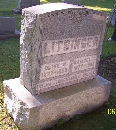 LITSINGER, SAMUEL C. - Stark County, Ohio | SAMUEL C. LITSINGER - Ohio Gravestone Photos