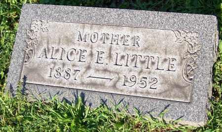 LITTLE, ALICE E. - Stark County, Ohio | ALICE E. LITTLE - Ohio Gravestone Photos