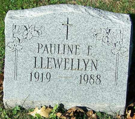 LLEWELLYN, PAULINE E. - Stark County, Ohio   PAULINE E. LLEWELLYN - Ohio Gravestone Photos