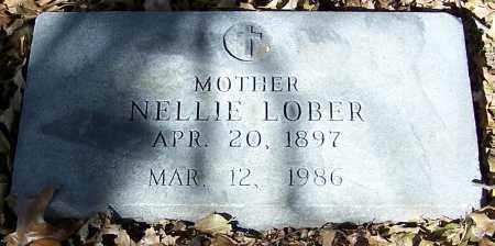 LOBER, NELLIE - Stark County, Ohio | NELLIE LOBER - Ohio Gravestone Photos