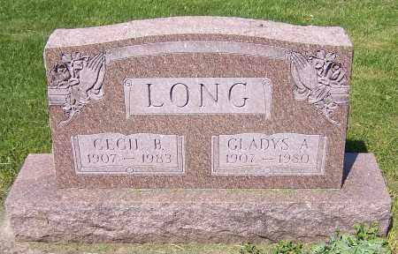 LONG, CECIL B. - Stark County, Ohio | CECIL B. LONG - Ohio Gravestone Photos