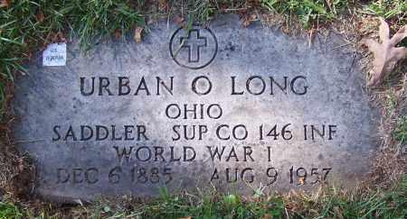 LONG, URBAN O. - Stark County, Ohio | URBAN O. LONG - Ohio Gravestone Photos