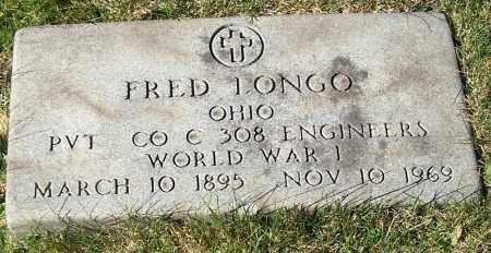 LONGO, FRED - Stark County, Ohio | FRED LONGO - Ohio Gravestone Photos