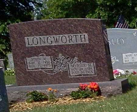 LONGWORTH, JOHN W. - Stark County, Ohio | JOHN W. LONGWORTH - Ohio Gravestone Photos