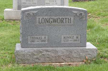 LEISY LONGWORTH, MINNIE M. - Stark County, Ohio | MINNIE M. LEISY LONGWORTH - Ohio Gravestone Photos