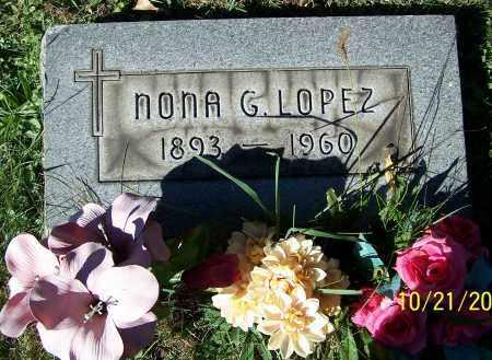 LOPEZ, NONA G. - Stark County, Ohio | NONA G. LOPEZ - Ohio Gravestone Photos