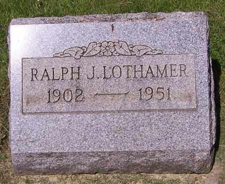 LOTHAMER, RALPH J. - Stark County, Ohio   RALPH J. LOTHAMER - Ohio Gravestone Photos