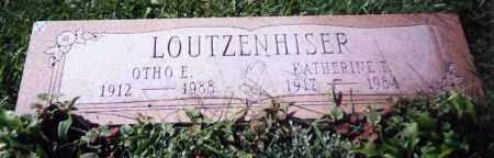 LOUTZENHISER, KATHERINE L. - Stark County, Ohio | KATHERINE L. LOUTZENHISER - Ohio Gravestone Photos