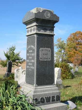 LOWER, ELIAS - Stark County, Ohio   ELIAS LOWER - Ohio Gravestone Photos