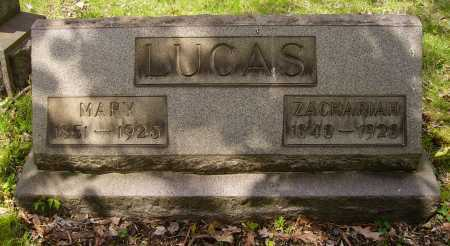 LUCAS, ZACHARIAH - Stark County, Ohio | ZACHARIAH LUCAS - Ohio Gravestone Photos