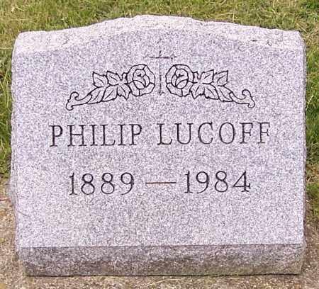 LUCOFF, PHILIP - Stark County, Ohio | PHILIP LUCOFF - Ohio Gravestone Photos