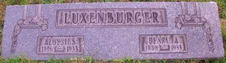 LUXENBURGER, PEARL A. - Stark County, Ohio | PEARL A. LUXENBURGER - Ohio Gravestone Photos