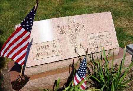 MANI, ELMER G. - Stark County, Ohio | ELMER G. MANI - Ohio Gravestone Photos