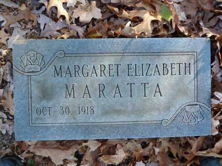 MARATTA, MARGARET ELIZABETH - Stark County, Ohio   MARGARET ELIZABETH MARATTA - Ohio Gravestone Photos
