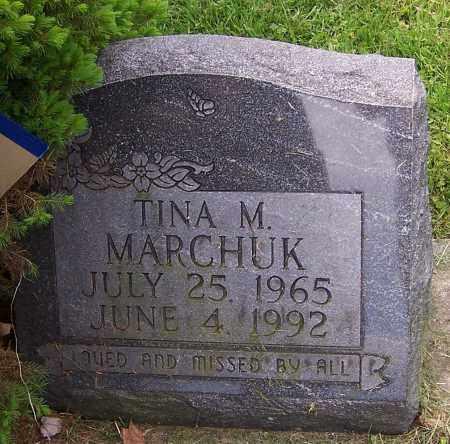 MARCHUK, TINA M. - Stark County, Ohio | TINA M. MARCHUK - Ohio Gravestone Photos