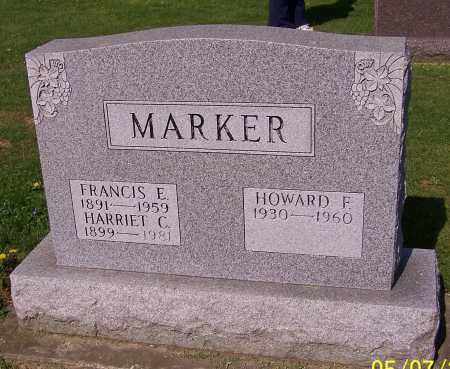 MARKER, HOWARD F. - Stark County, Ohio | HOWARD F. MARKER - Ohio Gravestone Photos