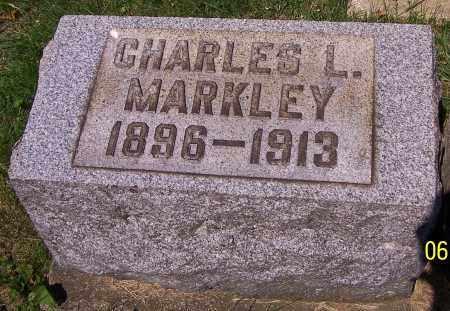 MARKLEY, CHARLES L. - Stark County, Ohio | CHARLES L. MARKLEY - Ohio Gravestone Photos