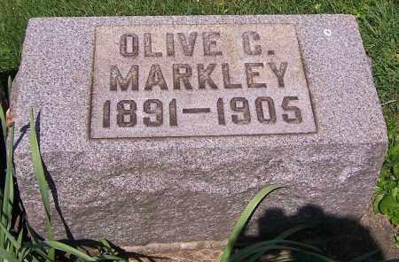 MARKLEY, OLIVE C. - Stark County, Ohio   OLIVE C. MARKLEY - Ohio Gravestone Photos