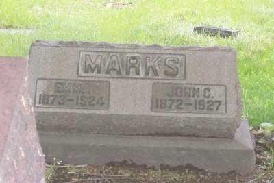 MARKS, EMMA - Stark County, Ohio | EMMA MARKS - Ohio Gravestone Photos
