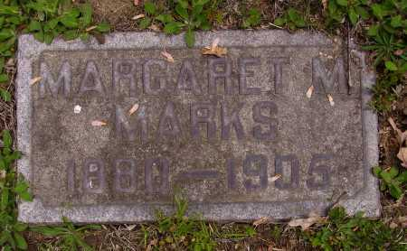 MARKS, MARGARET M. - Stark County, Ohio   MARGARET M. MARKS - Ohio Gravestone Photos