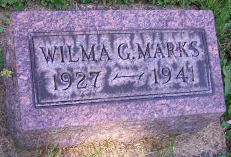 MARKS, WILMA G. - Stark County, Ohio   WILMA G. MARKS - Ohio Gravestone Photos