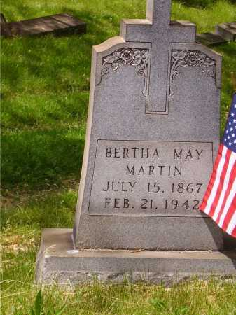 MARTIN, BERTHA MAY - Stark County, Ohio | BERTHA MAY MARTIN - Ohio Gravestone Photos