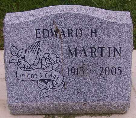 MARTIN, EDWARD H. - Stark County, Ohio | EDWARD H. MARTIN - Ohio Gravestone Photos