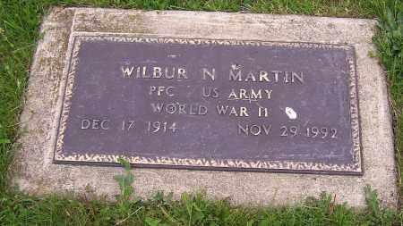 MARTIN, WILBUR N.  (MIL) - Stark County, Ohio | WILBUR N.  (MIL) MARTIN - Ohio Gravestone Photos