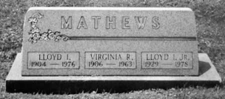 MATHEWS, VIRGINIA R. - Stark County, Ohio | VIRGINIA R. MATHEWS - Ohio Gravestone Photos