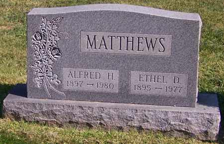MATTHEWS, ETHEL D. - Stark County, Ohio | ETHEL D. MATTHEWS - Ohio Gravestone Photos