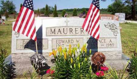 MAURER, GRACE A - Stark County, Ohio | GRACE A MAURER - Ohio Gravestone Photos