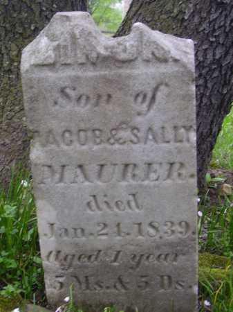 MAURER, SIMON? - Stark County, Ohio | SIMON? MAURER - Ohio Gravestone Photos