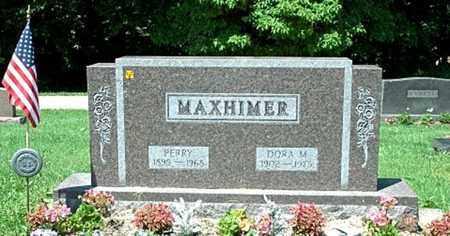 MAXHIMER, PERRY - Stark County, Ohio | PERRY MAXHIMER - Ohio Gravestone Photos